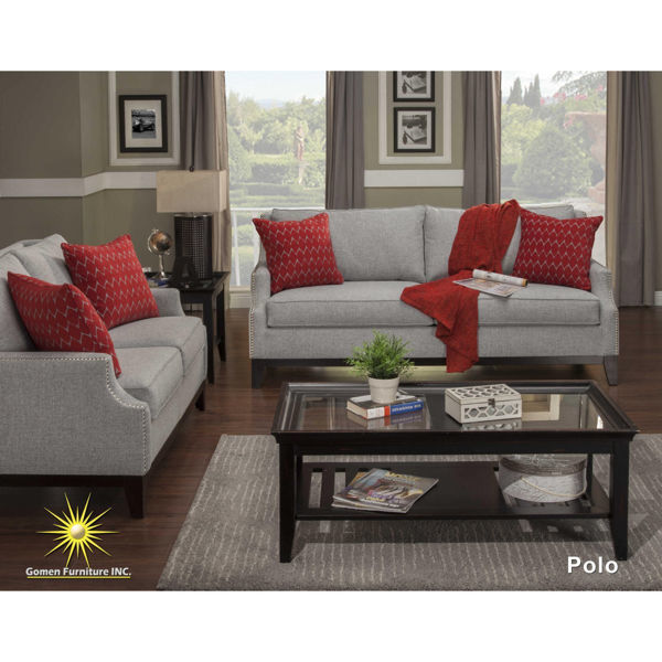 Picture of Nailhead Loveseat