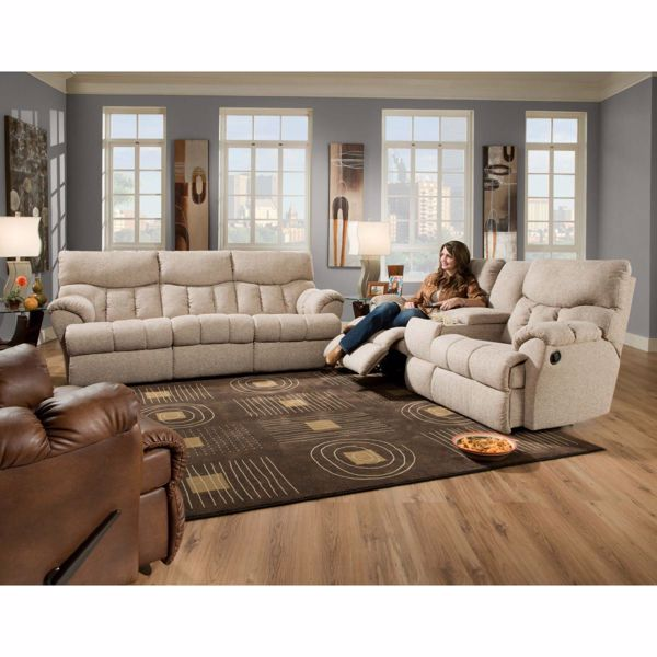 Picture of RE-FUELER RECLINING CONSOLE SOFA