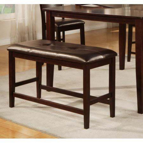Picture of Counter Dining Bench - Espresso