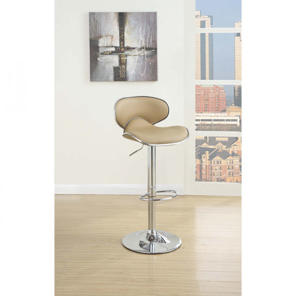 Picture of Brown BARSTOOL W/GAS LIFT