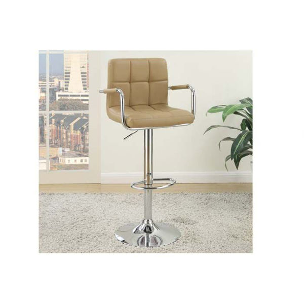 Picture of Brown Adjustable Barstool