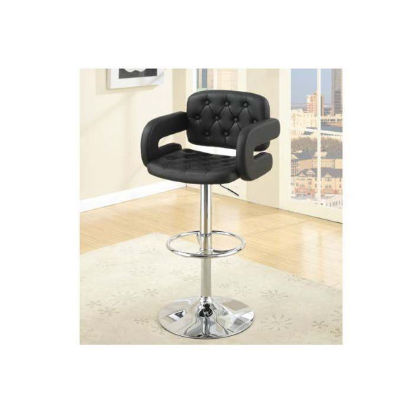 Picture of Black BARSTOOL W/GAS LIFT