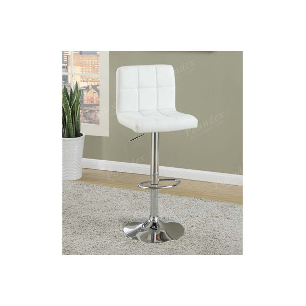 Picture of Barstool with Gas Lift White