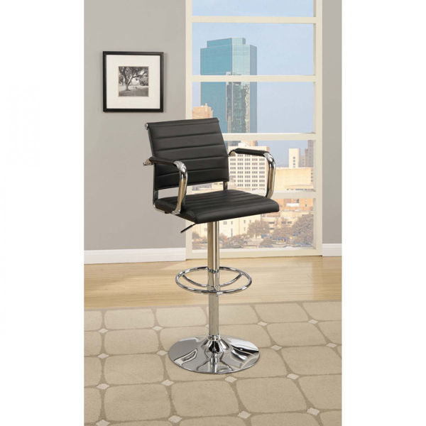 Picture of BAR STOOL-BLACK