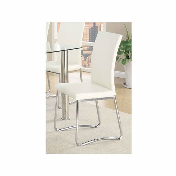 Picture of F1438 P/U WHITE SIDE CHAIR