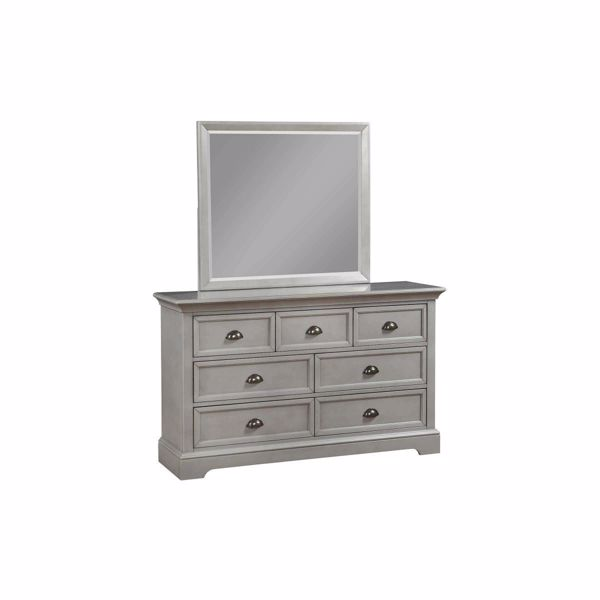 Picture of 7 DRAWER YOUTH DRESSER (GREY)