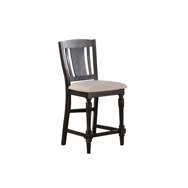 Picture of Xcalibur Counter Slat back stool