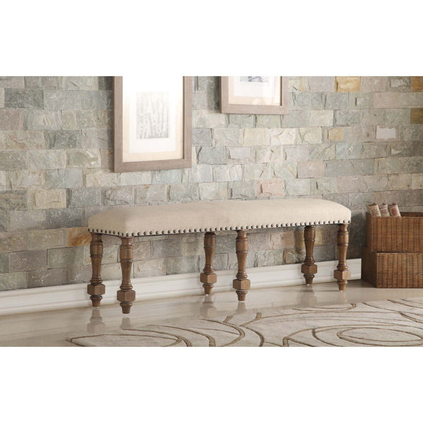 """Picture of Xcalibur Bench - Gray Finish - 60"""""""