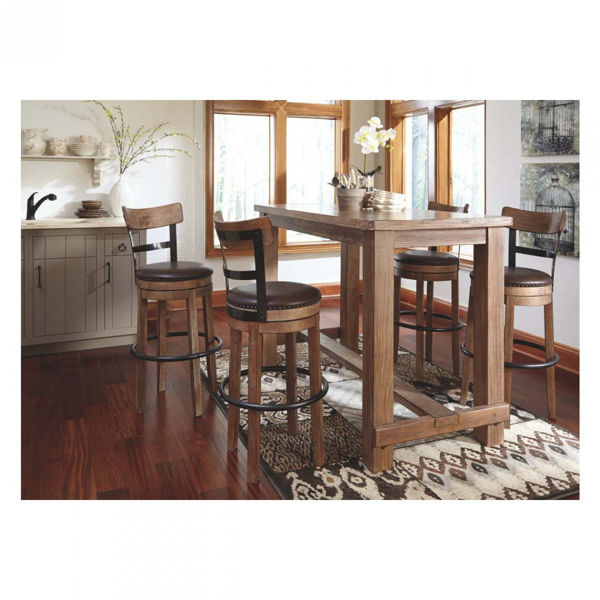 Picture of TALL SWIVEL BARSTOOL