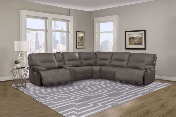 Picture of Spartacus Haze 6 Piece Sectional