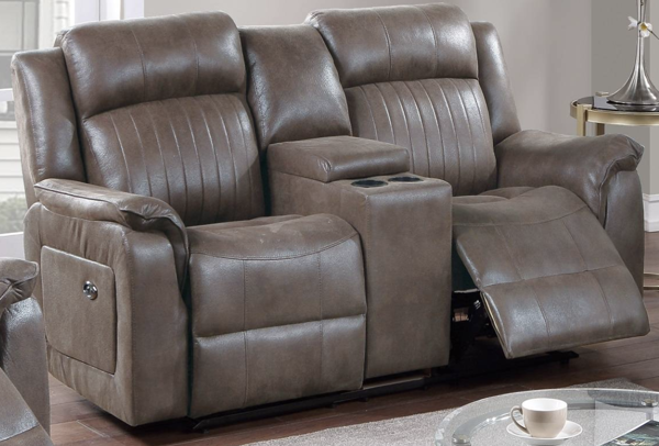 Picture of 3 Piece Manual Motion Set Loveseat with Console