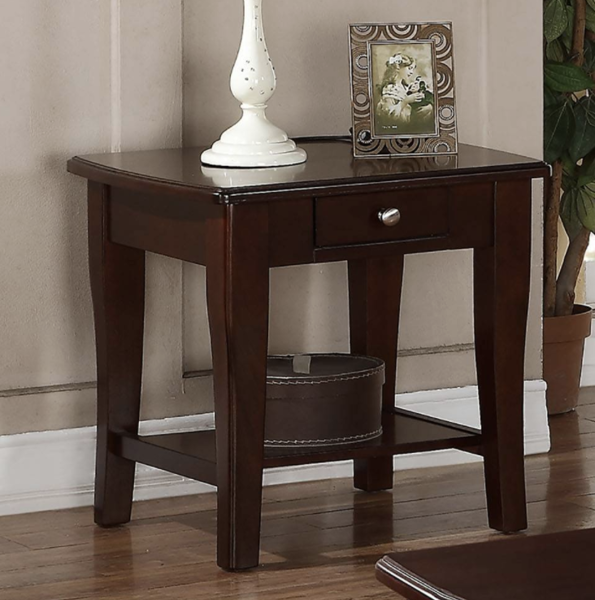 Picture of Wooden End Table